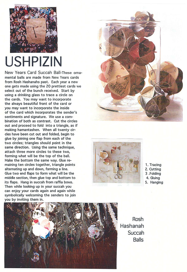 Ushpizin Balls from Susie Wolfson